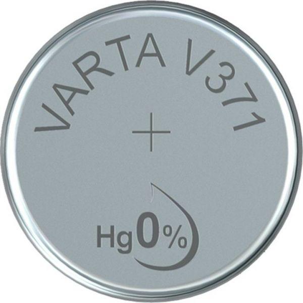 Silberoxid-Knopfzelle Typ SR69 / V371 von Varta
